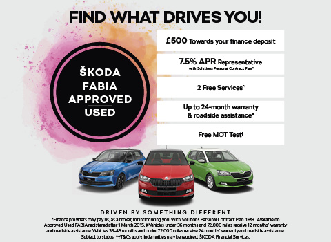 ŠKODA Fabia Approved Used Event