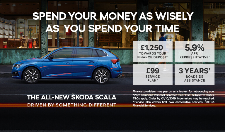 All New ŠKODA Scala