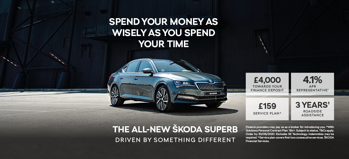 New ŠKODA Superb