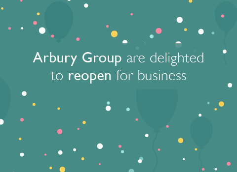 #TeamArbury are delighted to reopen for business